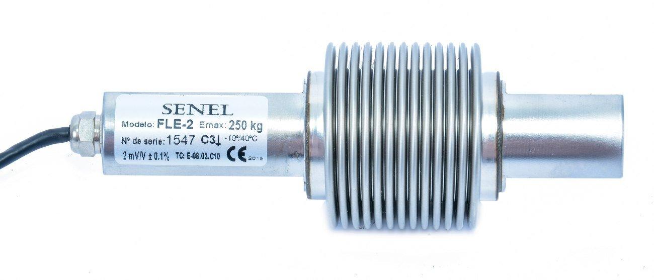 Célula de carga fle2 250 acero inoxidable 0 A 250 kg IP68 Micro láser totalmente soldada: Amazon.es: Industria, empresas y ciencia