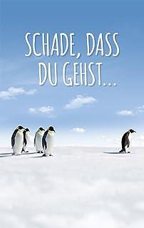 XL Abschiedskarte: Karte Zum Abschied Von Kollege Und Kollegin. Witziges  Abschiedsgeschenk!