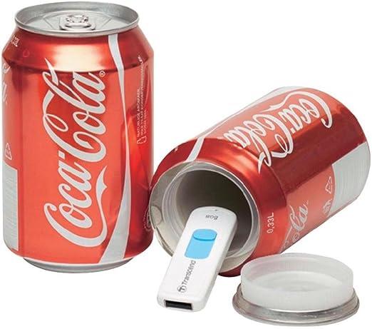 Bote de camuflaje / Lata de ocultación imitación refresco (Coca ...
