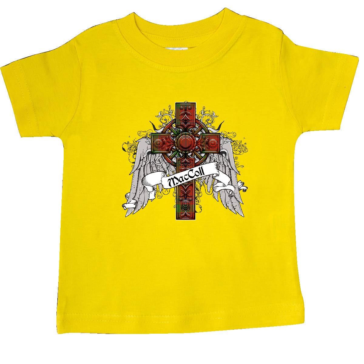 inktastic MacColl Tartan Cross Baby T-Shirt