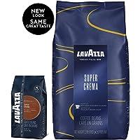 Lavazza 乐维萨超级克丽玛意式咖啡--全豆咖啡   2.2 磅(997.90克)袋装 (包装可能会有所不同)