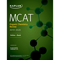 MCAT Organic Chemistry Review 2019-2020: Online + Book (Kaplan Test Prep) (English Edition)