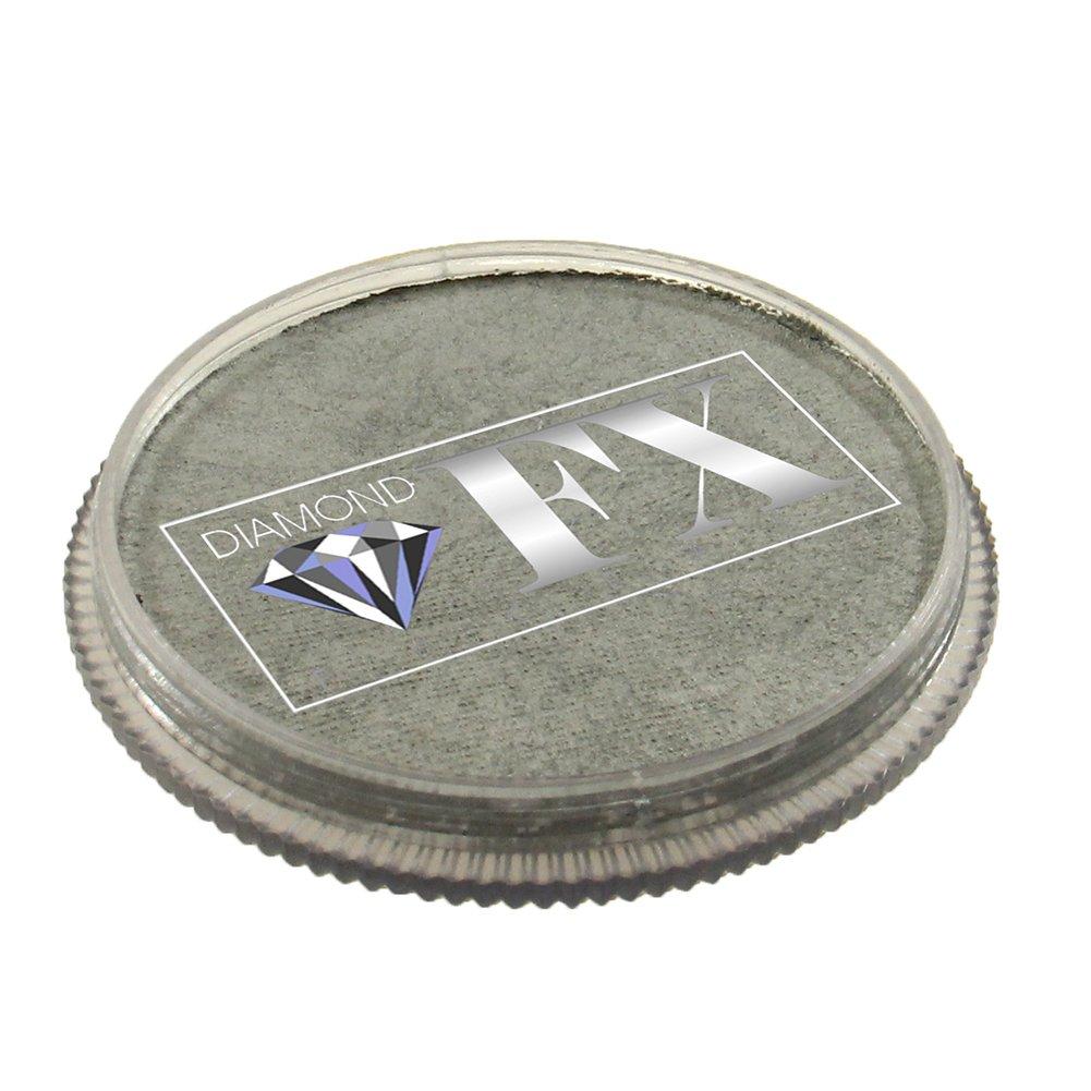 30 gm Diamond FX Metallic Face Paint - Silver 1200