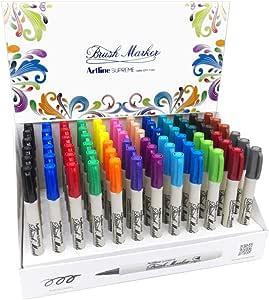 استاند اقلام رسم سوبريم بريشه 20لون عبوة 72 قلم من ارتلاين AMM-EPF-F/6D