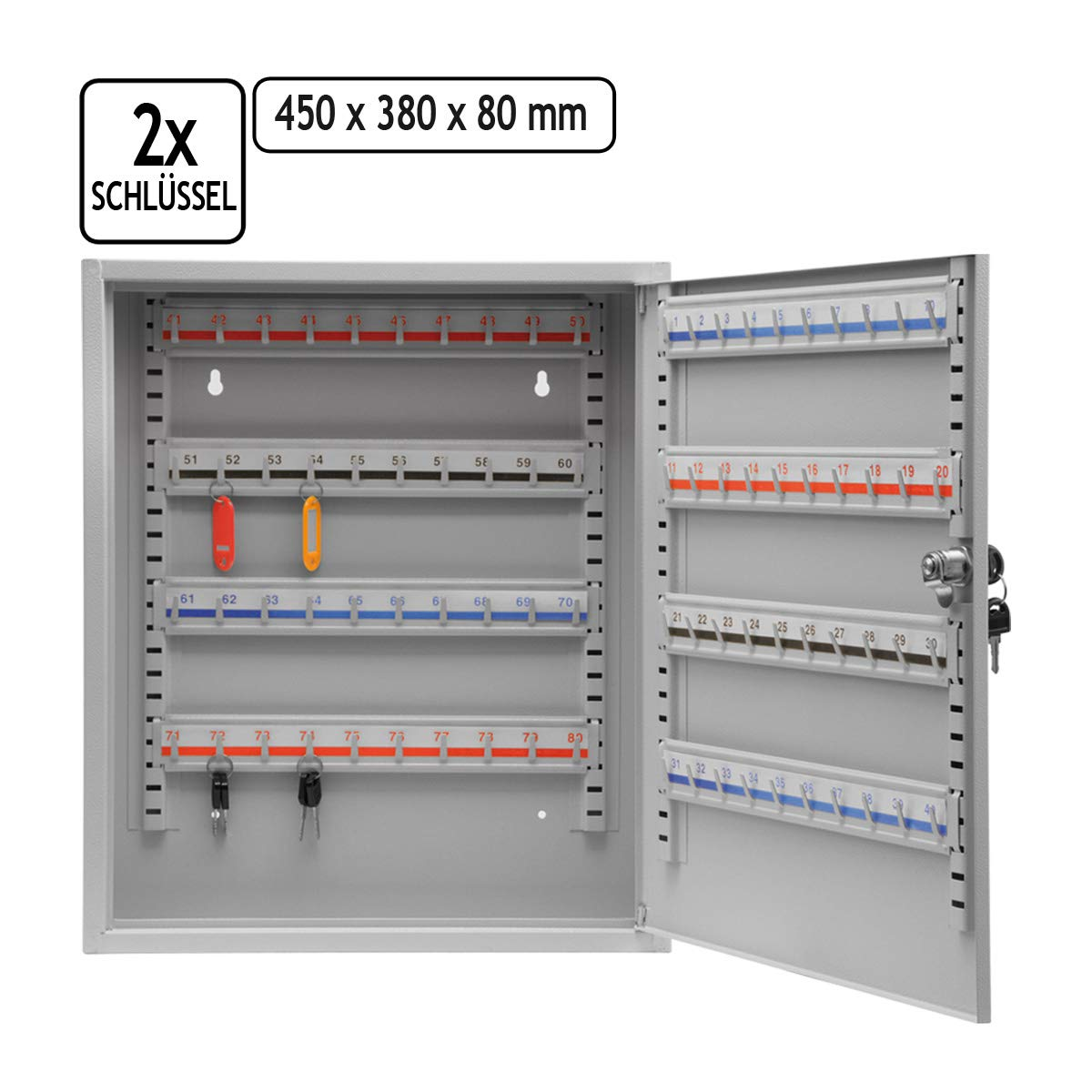 Schl/üsselkasten Schl/üsselschrank Schl/üsselbox abschlie/ßbar Schl/üssel Box
