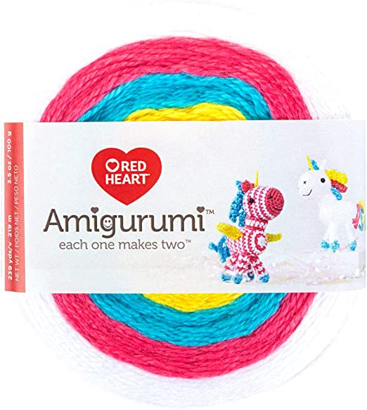 Amazon.com: Katia Amigurumi Yarn Kit (S01 - Naturals-Cyan-Magentas) | 579x522
