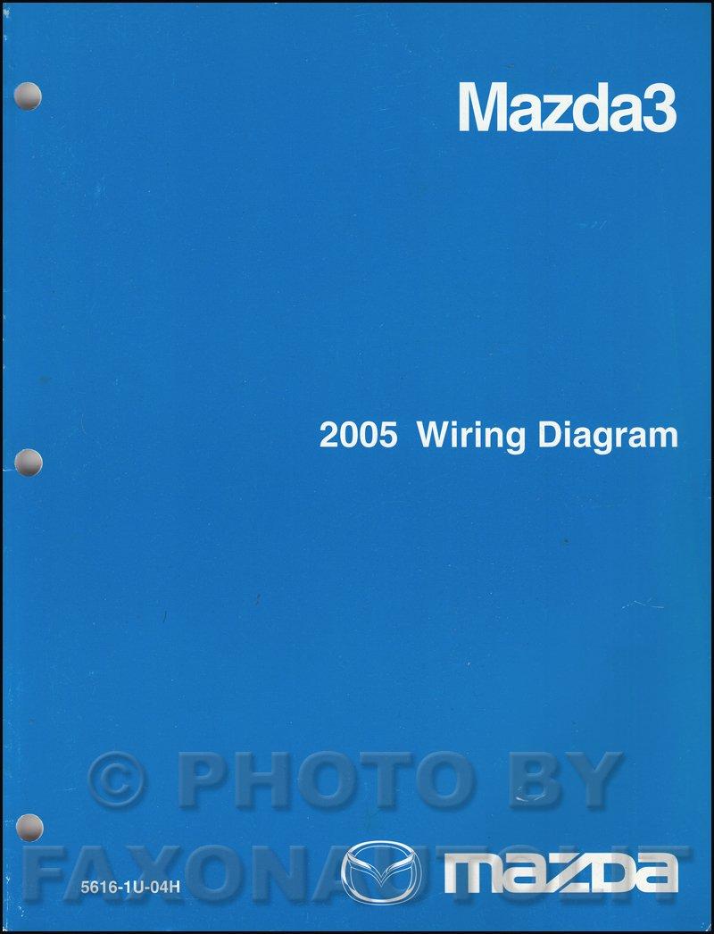 2005 Mazda 3 Wiring Diagram Manual Original Mazda Amazon Com Books