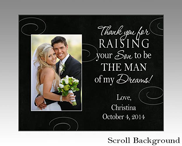 Amazon.com: 8x10 Thank you for raising your son to be the man of my ...