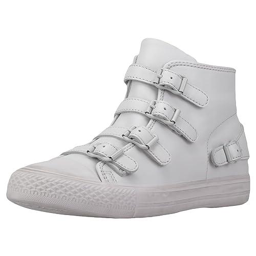 Ash Zapatos Venus Zapatillas de Cuero Pearl Mujer: Amazon.es