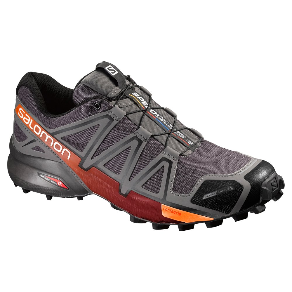 Salomon Men's Speedcross 4 CS Trail Runner B017SR15LA 7.5 D - Medium|Autobahn/Detroit/Orange Rust