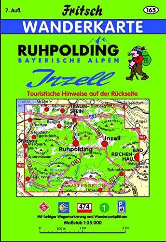 Ruhpolding-Inzell (Fritsch Wanderkarten 1:35000)
