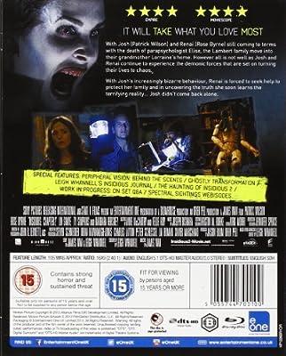 Insidious 2 [DVD] [Reino Unido] [Blu-ray]: Amazon.es: Patrick Wilson, Rose Byrne, Barbara Hershey, James Wan, Patrick Wilson, Rose Byrne: Cine y Series TV