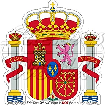 España Español Escudo Insignia Escudo Espana 95 mm (3.8) Bumper de ...