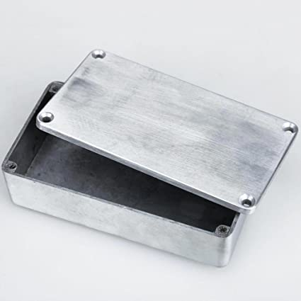 f60d37cda6 Amazon.com: Jocestyle Guitar 1590B Style Effects Pedal Aluminum Stomp Box  Enclosure: Musical Instruments