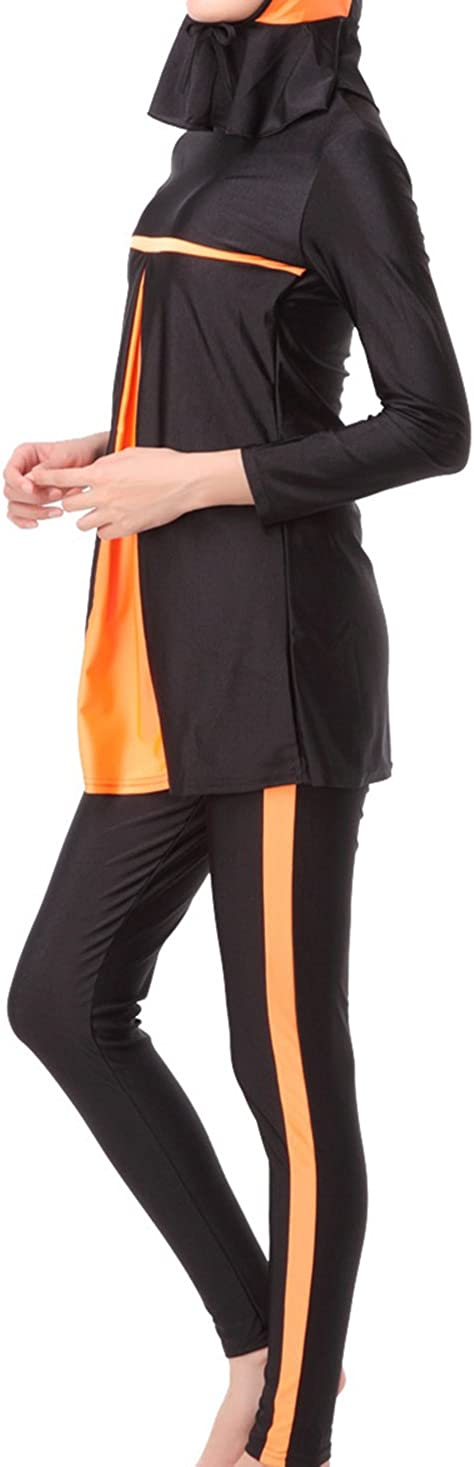zhbotaolang da Donna Costumi da Bagno Musulmano Islamico Burkini Modesto Le Signore