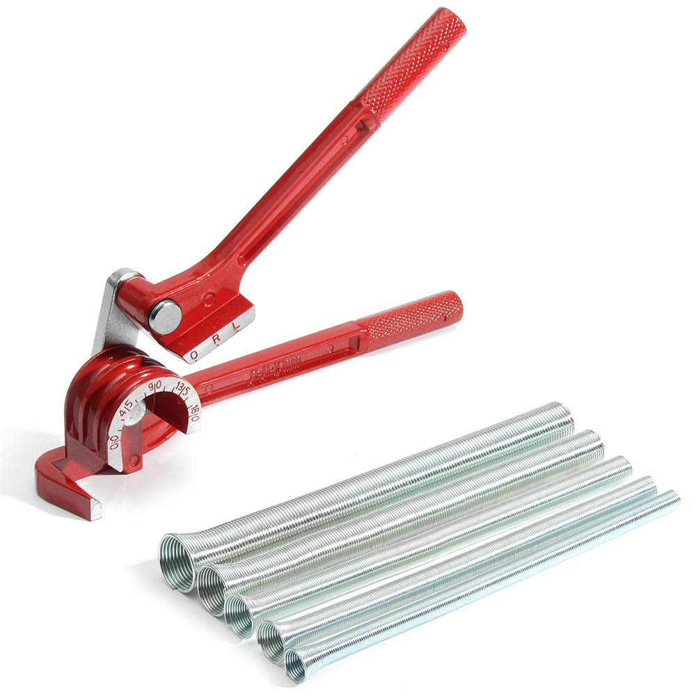 Tickas 180 /° Rohrbiegemaschine,3 In 1 180 /° Rohrbiegemaschine F/ür Rohrleitungen Kupferrohr Aus Aluminiumrohr