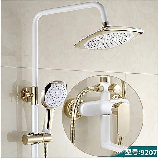 Multifunción palanca ducha cabeza baño lujo lluvia Licuadora ducha ...