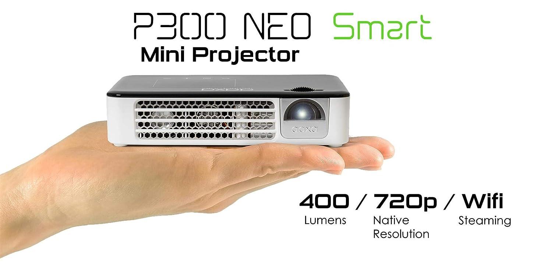 AAXA P300 Neo Smart Android Mini Pico Proyector con batería ...