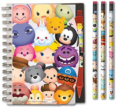 Disney Tsum Notebook Pencil Case
