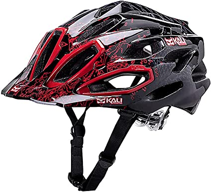 Kali Protectives Maraka XC Helmet Medium//Large Edge Red