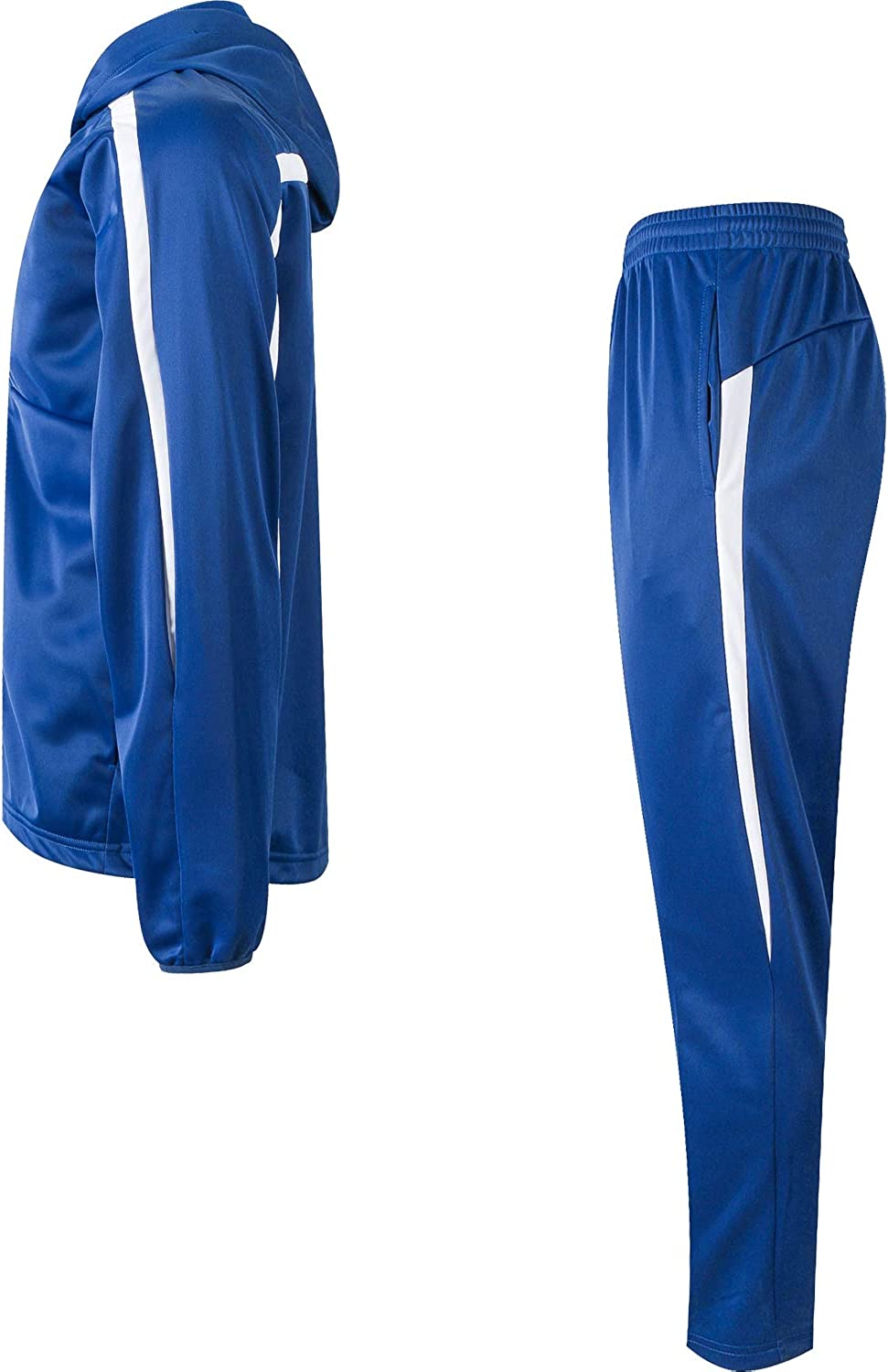 Active Tracksuits Mens Athletic Casual Pant and Hooded Jacket Sweatsuit Set  Clothing, Shoes & Jewelry samel.com.br