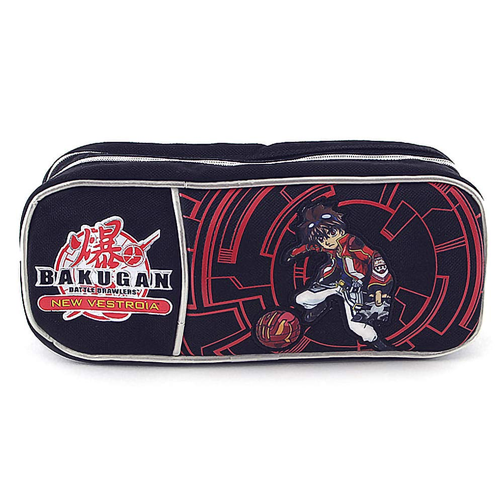 Bakugan 11-1883 Coin Pouch, Black/Red