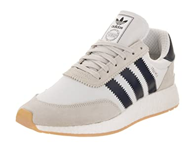 Iniki Runner in White/Collegiate Navy/Gum by Adidas, 7