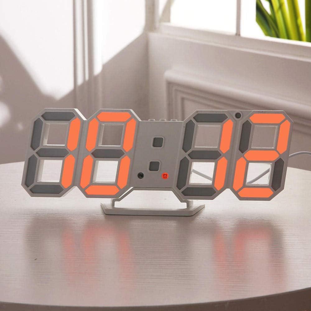 Reloj despertador digital: alimentación de red, despertadores de ...