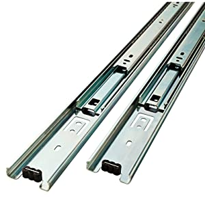 LibertyD80616C-ZP-W 16-Inch Ball Bearing Drawer Slides