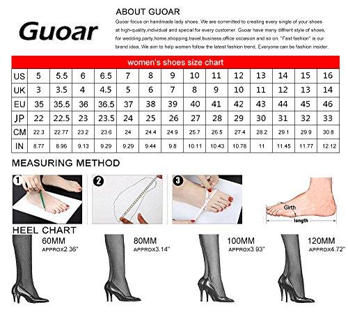 Guoar - Cerrado Mujer Negro - negro