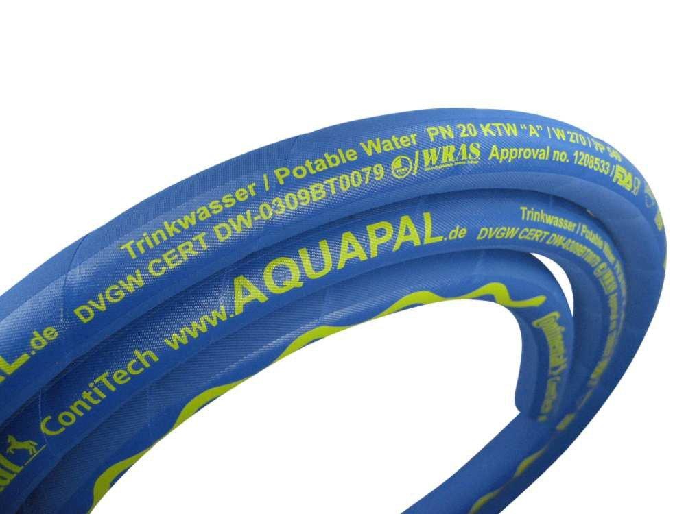 """25°C beheizter Trinkwasserschlauch Profiline Aqua Plus 3//4/"""" KTW A DVGW W270 25m"""