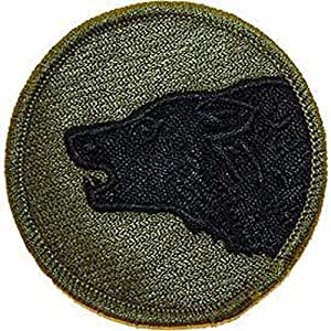U.S. Army 104th infantry Division Patch Green