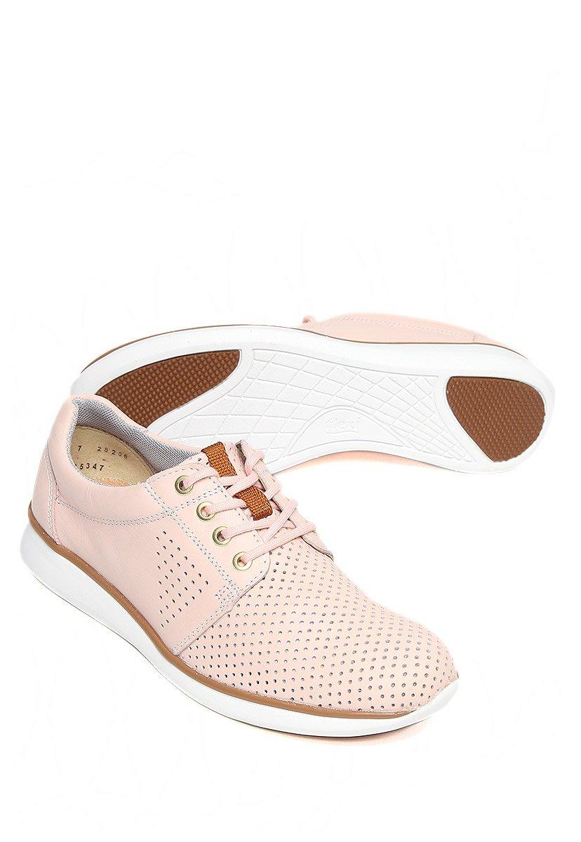 700e90e3612 Flexi Tenis Rosa en Piel Tenis para Mujer  Amazon.com.mx  Ropa ...