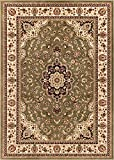 """Well Woven Barclay Medallion Kashan Green Traditional Area Rug 2'3"""" X 7'3"""" Runner brings together an array of patterns drawn from a carefully selected palette of Modern, European, and Persian Styles. Warm red, green, and blue jewel tones are ..."""