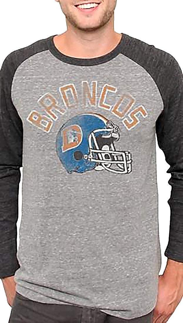 Junk Food Mens Clothing NFL New York Giants Football Raglan Shirt