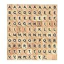 hisurprise Scrabble文字タイルScrabble木製タイルComplete Set文字ゲームアルファベットPieceペンダント名前デラックスエディションTage for Scrapbookingの商品画像