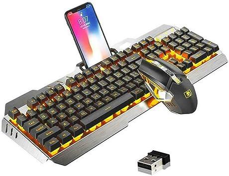 Teclado para Juegos K670 inalámbrico Recargable Gaming ...