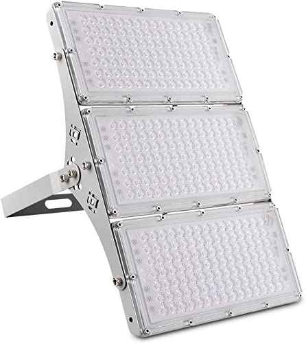 Ankishi LED Flood Light 300W,30000LM Super Bright LED Security Lights,Cool White 6000-6500K, IP66 Waterproof,Ultra-Thin IP66 Foodlight,Landscape Flood Light Outdoor for Yard,Garden,Playground,Garage