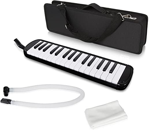 lectronify negro profesional armónica/melody-horn/blow-organ ...