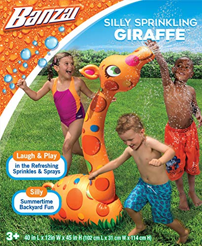 BANZAI Silly Sprinkling Giraffe