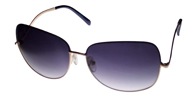 fe2cf76cace Image Unavailable. Image not available for. Color  Kenneth Cole Reaction  Square Gold Metal Sunglass ...