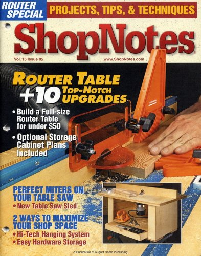 ShopNotes, January/February 2006 (Miter Saw Zero Clearance Insert)