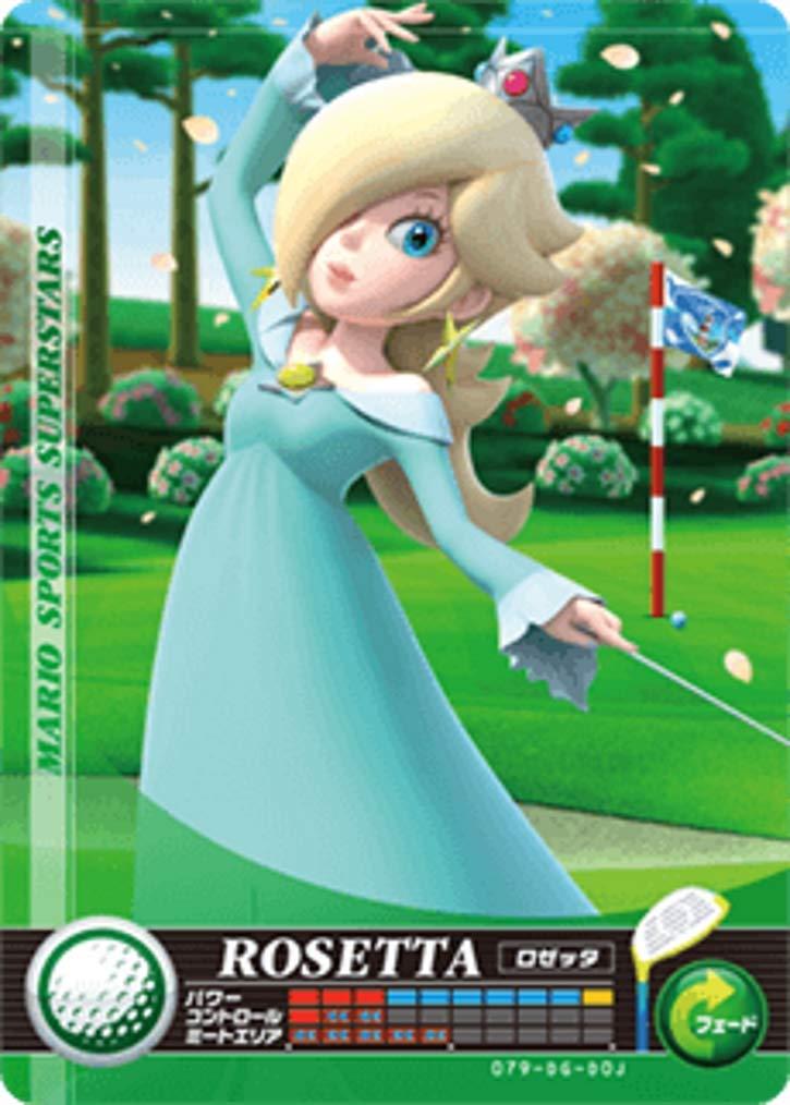 닌텐도 마리오 스포츠 슈퍼 스타 아미보 카드 골프 로잘리나 닌텐도 스위치 WII U 그리고 3DS