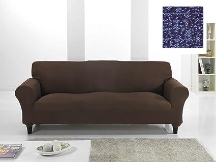 Funda Bielástica Nature para Sofá EKTORP de IKEA, Color Azul ...