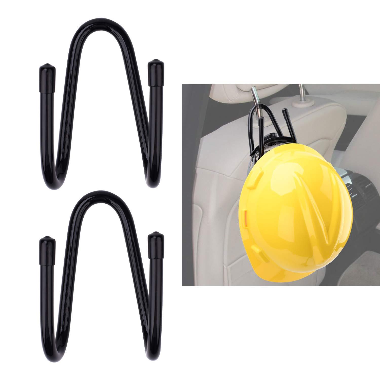 Attisstore Hard Hat Holder Hard Hat Storage Rack Wall Mounted Gray