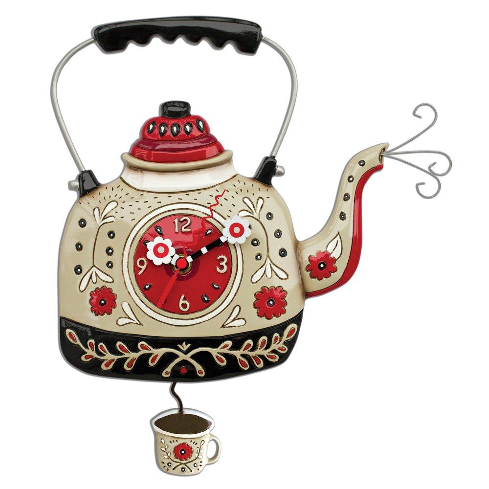 Allen Designs Kettle's On Pendulum Clock by Allen Designs