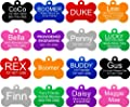 Providence Engraving Aluminum Pet ID Tags for Cat and Dog by Providence Engraving