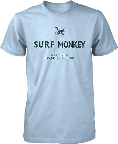 Camiseta Azul Cielo Algodón orgánico para Hombre - Camiseta Manga ...