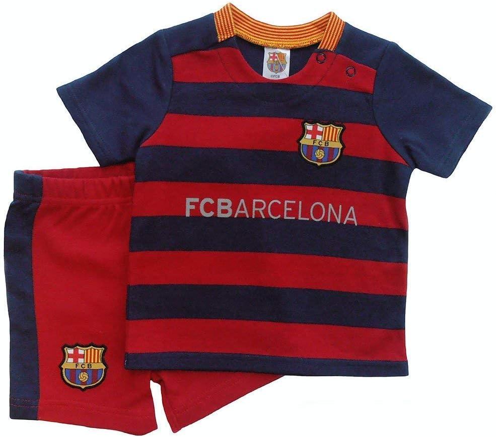 FC BARCELONA KIT-camisa bebé corto y camiseta a juego KIT de ...