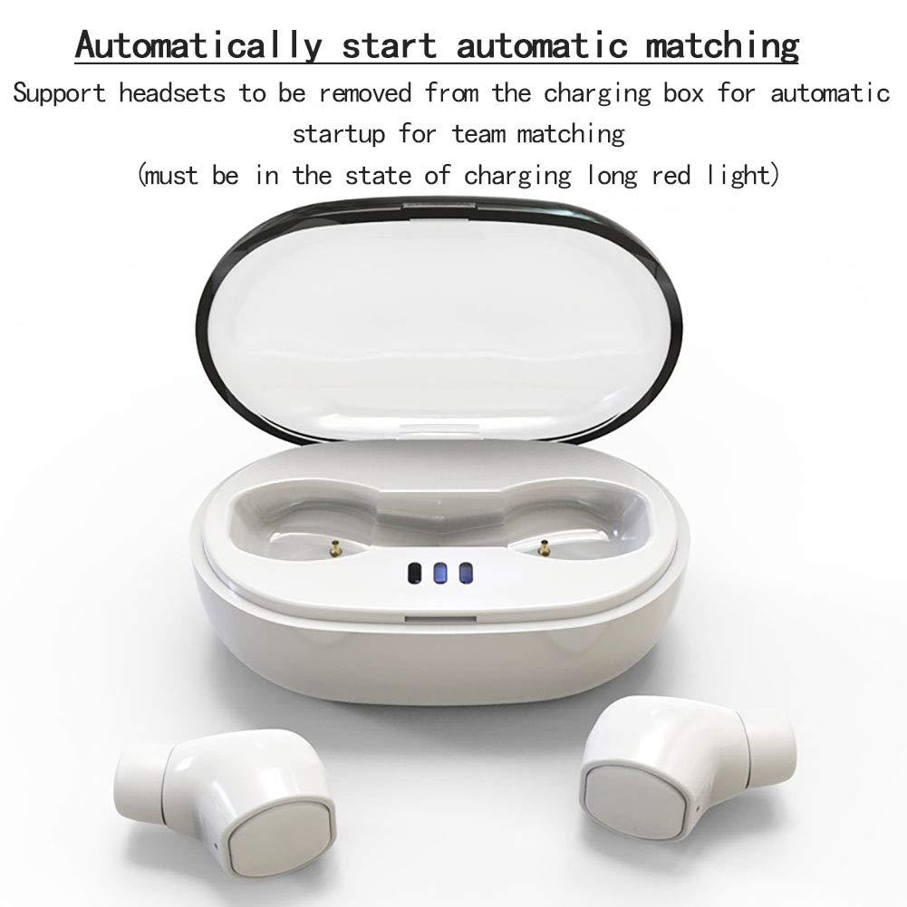 Dean - Auriculares de Diadema inalámbricos con Bluetooth 5.0 (función de reducción de Ruido, Resistentes al Agua): Amazon.es: Electrónica